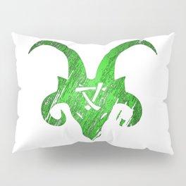 Green Horned Skaven Pillow Sham