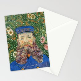 Portrait of the Postman by Vincent van Gogh Stationery Cards