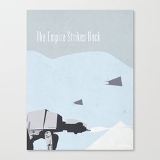 Empire Strikes Back movie poster. Canvas Print