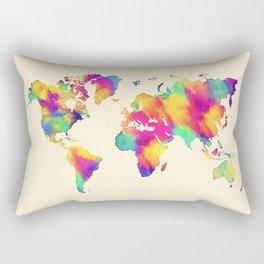 map 56 Rectangular Pillow