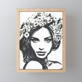 Gardens Framed Mini Art Print