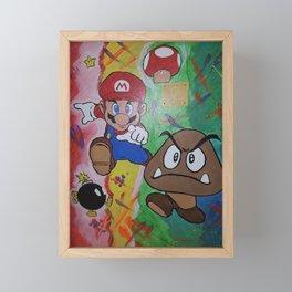 Mushroom World Framed Mini Art Print