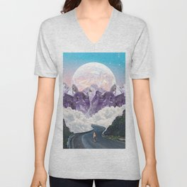 CRYSTAL MOUNTAIN TOPS Unisex V-Neck
