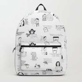 Gilmore Girls quotes Backpack