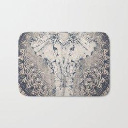 Indian Elephant Mandala Bath Mat