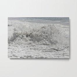 Sea Salted Metal Print
