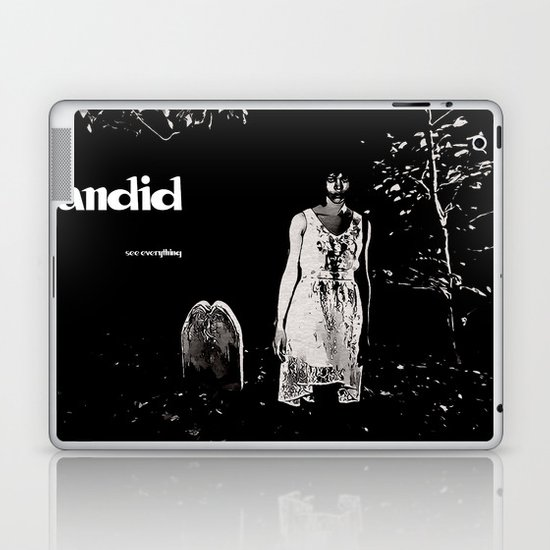 Candid #2 (With text) Laptop & iPad Skin
