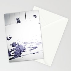 Overrun by Snow Stationery Cards