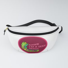 Caterpillar Francine Says Rawr I'm a Sexy Beast Fanny Pack
