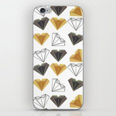 A heart is made of ... paper, scissors, rock  iPhone & iPod Skin