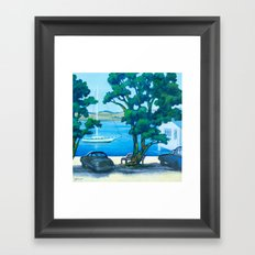 Of Boats and Summer Framed Art Print