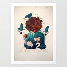 fructum caput Art Print