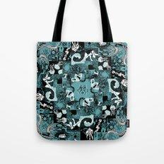 Summer Relief - seafoam Tote Bag