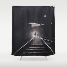 Tales of a somnambulist Shower Curtain