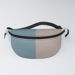 Parable to Behr Blueprint Color of the Year and Accent Colors Vertical Stripes 13 Fanny Pack