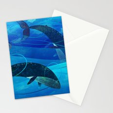 Tropical waters Stationery Cards