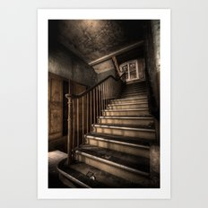 Stairway to knowledge  Art Print