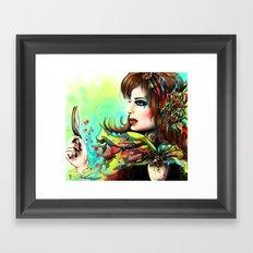 VICTIM Framed Art Print