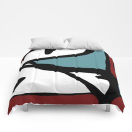 Abstract Painting Design - 1 Comforters