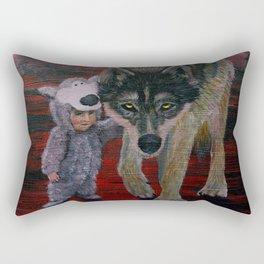 Imposter Syndrome Rectangular Pillow