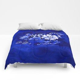 Delft Floral Comforters