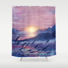 Wish You Were Here  01 Shower Curtain