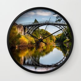 IronBridge Shropshire Wall Clock