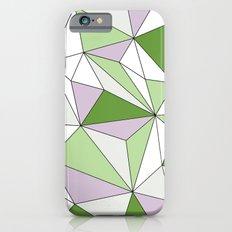 Geo - green, gray and white. Slim Case iPhone 6s