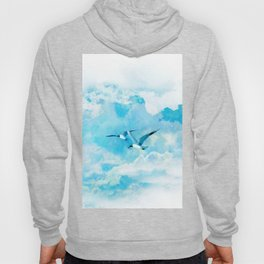 Flying birds Hoody