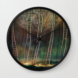 Atlante 13-06-16 / STAIRS Wall Clock