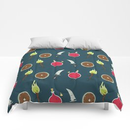 Let's All Go On an Adventure Comforters