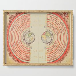 A Geocentric Universe Serving Tray