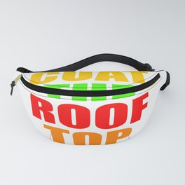 CUAT THE ROOFTOP Fanny Pack