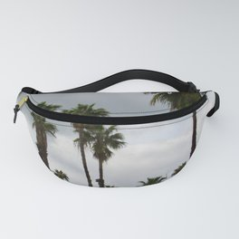 Cloudy Day Palms on the Hillside Fanny Pack