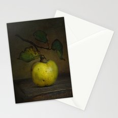 autumn fruit ( quince ) Stationery Cards
