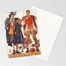 Joseph Christian Leyendecker - Thanksgiving 1628-1928 - Digital Remastered Edition Stationery Cards