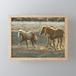 Sparked by Water Framed Mini Art Print