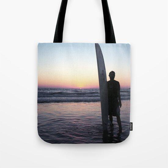 Summer Surfer Tote Bag