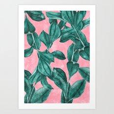 Verdure Art Print