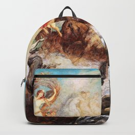 Hans Makart - The victory of light over darkness - Digital Remastered Edition Backpack