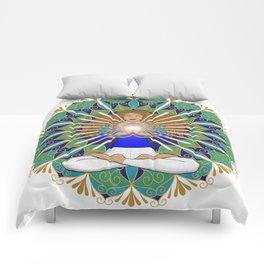 Divine Spark Mandala Comforters