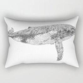 A Humpback Whale Rectangular Pillow