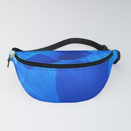 Blue Poppies #decor #society6 #buyart Fanny Pack