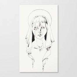 The Virgin  Canvas Print