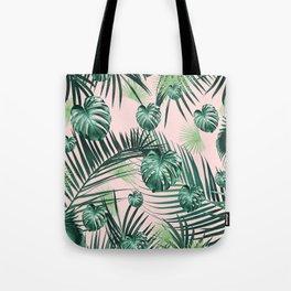 Tropical Jungle Leaves Garden #2 #tropical #decor #art #society6 Tote Bag