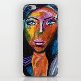 Powerful Woman iPhone Skin