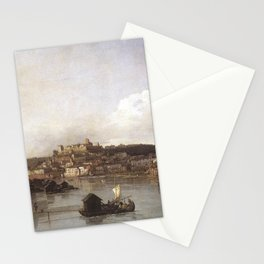 Bernardo Bellotto - View of Verona and the River Adige from the Ponte Nuovo Stationery Cards