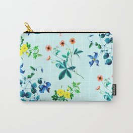 Spring fling III - mint Carry-All Pouch