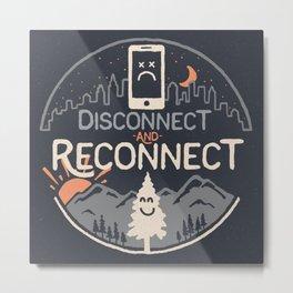 Reconnect... Metal Print