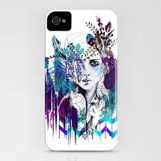 Tribal Girl - Colourway - Slim Case iPhone (4, 4s)